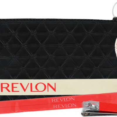 Revlon Pedicure Kit Zestaw Do Pedicure + Kosmetyczka