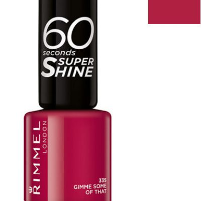 Rimmel 60 Seconds Super Shine, lakier do paznokci, 315 Queen Of Tarts, 8 ml