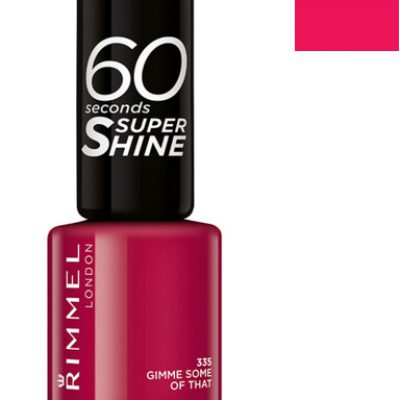 Rimmel 60 Seconds Super Shine lakier do paznokci 430 Coralicious 8ml