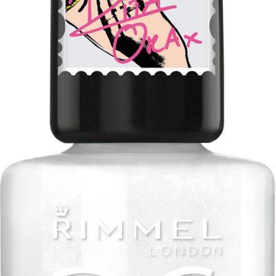 Rimmel 60 Seconds Super Shine lakier do paznokci 703 White Hot Love 8ml