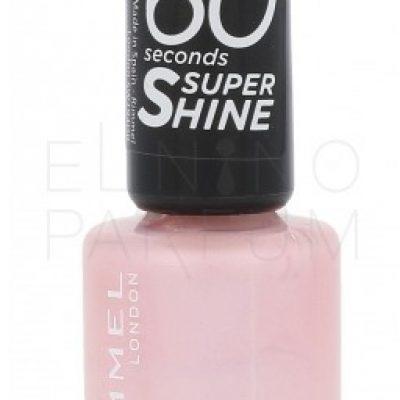 Rimmel London London 60 Seconds Super Shine lakier do paznokci 8 ml dla kobiet 210 Ethereal