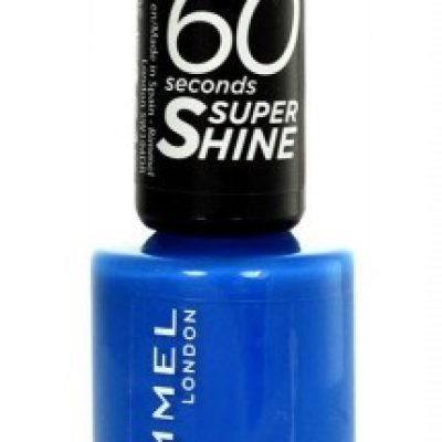 Rimmel London London 60 Seconds Super Shine lakier do paznokci 8 ml dla kobiet 310 Double Decker Red