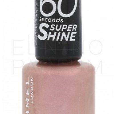 Rimmel London London 60 Seconds Super Shine lakier do paznokci 8 ml dla kobiet 510 Euphoria