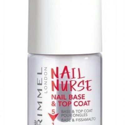 Rimmel London London Nail Nurse Base & Top Coat lakier do paznokci 12 ml dla kobiet