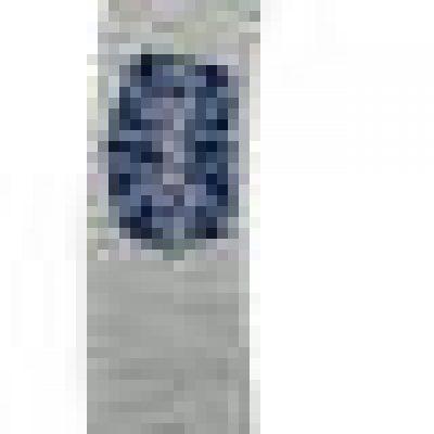 Ronney Ronney Dwustronny pilnik do paznokci Banan, gradacja 180/240