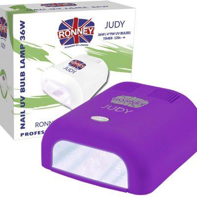 ronney RONNEY JUDY Profesjonalna lampa do paznocki UV 36W (GY-UV-230) - FIOLETOWA