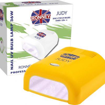 ronney RONNEY JUDY Profesjonalna lampa do paznocki UV 36W (GY-UV-230) - ŻÓŁTA