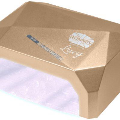 ronney RONNEY LUCY Profesjonalna lampa do paznocki CCFL + LED 38W (GY-LCL-021) - ZŁOTA