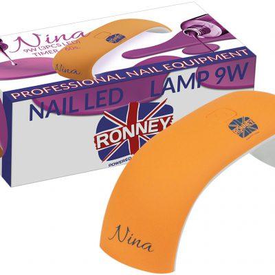 ronney RONNEY NINA Profesjonalna lampa do paznocki LED 9W (GY-LED-018) - POMARAŃCZOWA