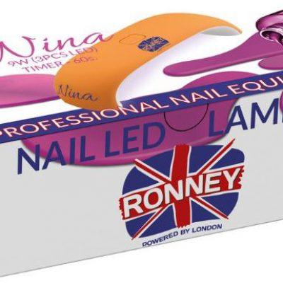 ronney RONNEY NINA Profesjonalna lampa do paznocki LED 9W (GY-LED-018) - ZIELONA