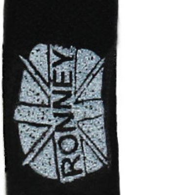 Ronney Ronney Professional Nails Pilnik Papierowy Czarny Banan 80/80