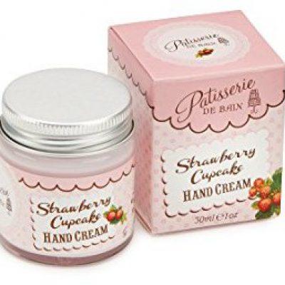 Rose and co Patisserie de Bain Strawberry Cupcake Moisturising hand Cream 30 ML PB081