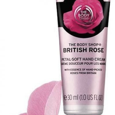 Rose TBS PL Krem do rąk British D-54636
