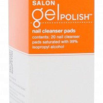 Sally Hansen Salon Gel Polish Nail Cleanser Pads zmywacz do paznokci 20 szt dla kobiet