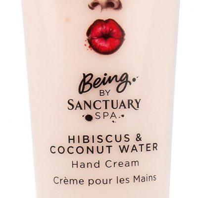 SANCTUARY Spa Covent Garden Spa Hand Cream Krem Do Rąk Hibiskus I Woda Kokosowa 50ml