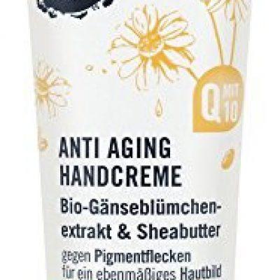 Sante Natur Anti-Aging krem do rąk, Vegan kosmetycznych, masłosza i bio stokrotki, ekstrakty organiczna, naturalne Do pielęgnacji dłoni, 4 X 75ml Multi Pack