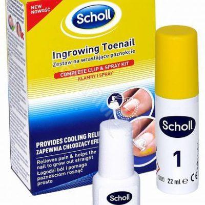 Scholl Ingrowing Toenail Zestaw na wrastajšce paznokcie 7067435