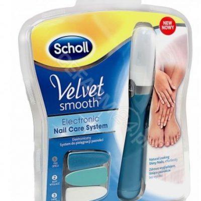 Scholl Velvet Smooth System elektroniczny pilnik do paznokci