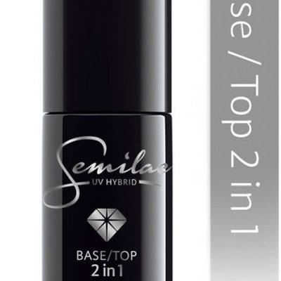 Semilac Baza + Top 2w1 do lakieru hybrydowego 7ml 644779