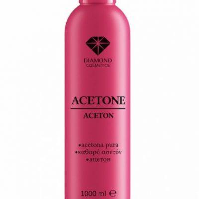 Semilac Diamond Cosmetics Aceton kosmetyczny - czysty - 1000 ml