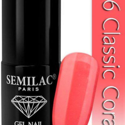 Semilac Lakier hybrydowy 006 Classic Coral
