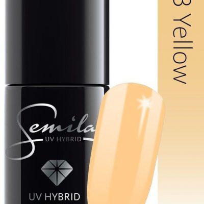 Semilac Lakier Hybrydowy PasTells 263 Yellow 7ml ZE0507-263