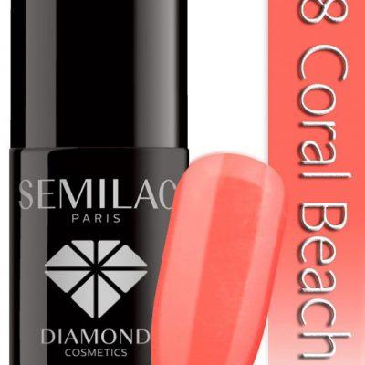 Semilac Lakier Hybrydowy Semilac 038 Coral Beach - 7 Ml 4752