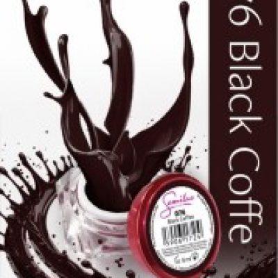 Semilac UV Gel Color 076 Black Coffee 5ml