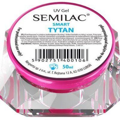 Semilac UV GEL SMART Tytan 50 ml 5902751400106