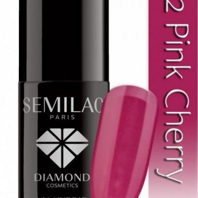 Semilac UV Hybrid lakier hybrydowy 012 Pink Cherry 7ml