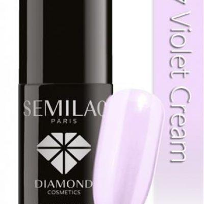 Semilac UV Hybrid Lakier hybrydowy 127 fiolet Cream 7ml