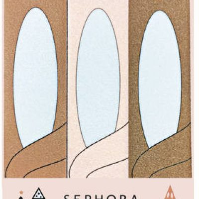 SEPHORA COLLECTION Winter Wonderland* - Zestaw 3 mini pilników do paznokci.