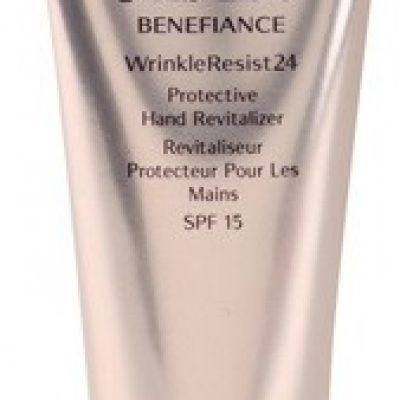Shiseido Benefiance WrinkleResist24 odnawiający krem ochronny do rąk SPF 15 75 ml