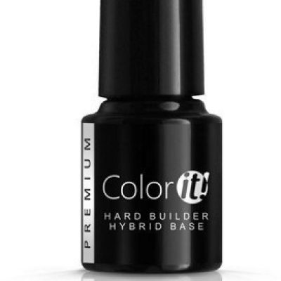 Silcare Color It Premium Hard Builder Hybrid Base bezbarwna baza pod lakier hybrydowy Clear 6g