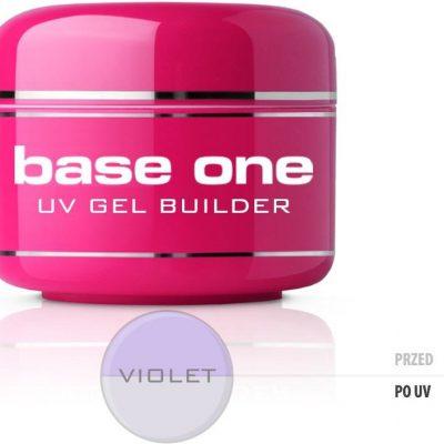 Silcare Gel Base One Violet żel budujący do paznokci 30g