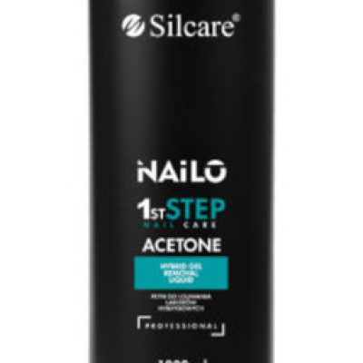 Silcare Nailo 1st Step Nail Acetone aceton do usuwania lakierów hybrydowych 1000ml