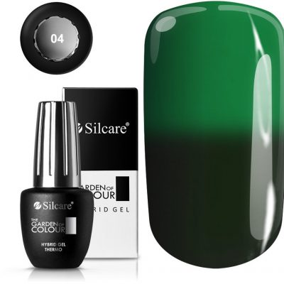 Silcare OUTLET The Garden of Colour Lakier Hybrydowy Thermo *04