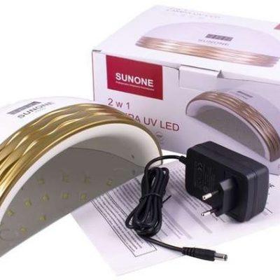 Sunone SUNONE PRO1 LCD LAMPA DUAL LED UV 48W HYBRYDY ŻELE ZŁOTA