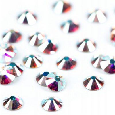 Swarovski Cyrkonie Kryształki SS5 Ab Crystal 50szt