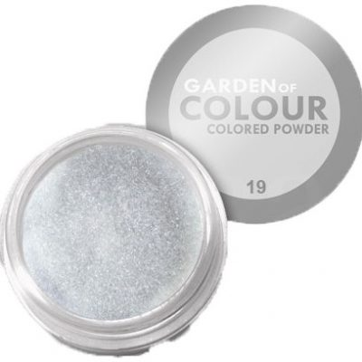 Vanity akryl kolorowy the garden of colour nr 19 srebrny 4g 7258