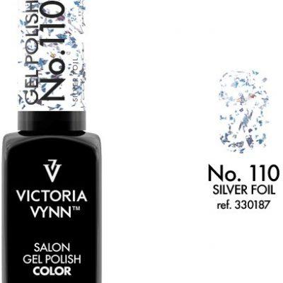 Victoria Vynn Lakier hybrydowy GEL POLISH COLOR 8 ml - Silver Foil 110g 330187-VICTORIA-VYNN