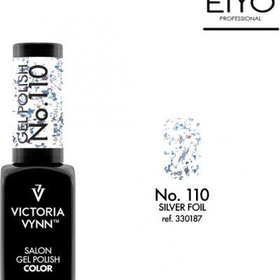 Victoria Vynn Lakier hybrydowy Silver Foil nr 110 - 8 ml 330187