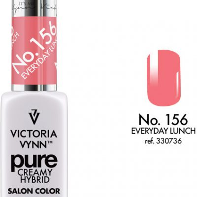 Victoria Vynn PURE CREAMY HYBRID NO. 156 EWERYDAY LUNCH 8 ml KISS COLLECTION 330736