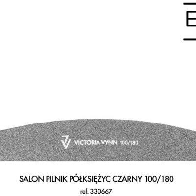 Victoria Vynn SALON PILNIK PÓŁKSIĘŻYC CZARNY 100/180 - VICTORIA VYNN 330667