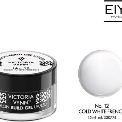 Victoria Vynn Żel budujący Victoria Vynn Cold White French No.12 SALON BUILD GEL 15 ml 330774