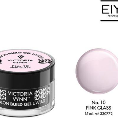 Victoria Vynn Żel budujący Victoria Vynn Pink Glass No.10 SALON BUILD GEL 15 ml 330772