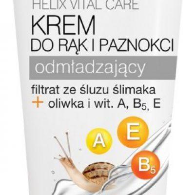 Vis Plantis Helix Hand Care Krem do rąk i paznokci odżywczy, odmładzający Oliwka + Witaminy A, B5, E + Poly- Helixan