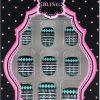 Akcesoria Bling Beatiful New Fashion Zestaw Sztucznych Paznokci + Klej 18