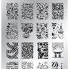 Konad Płytka ze wzorkami na paznokcie Square 09 - 1 szt. Płytki do wzorków