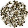 Semilac 766 Złote Łezki małe cyrkonie ozdoby 100szt 5902751425048